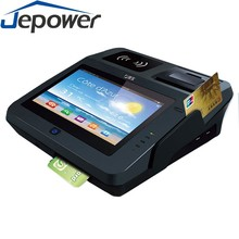 electronic cash register pos systems with 80mm thermal printer/nfc reader