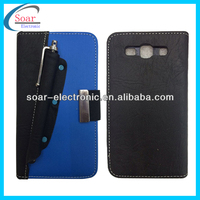 touch pen/stylus holder styles leather case for samsung galaxy s3 i9300