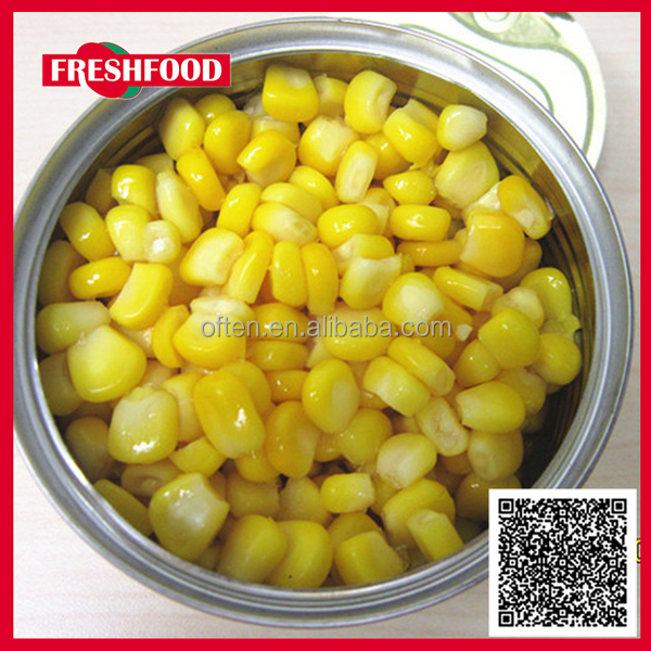 low price canned kernel corn
