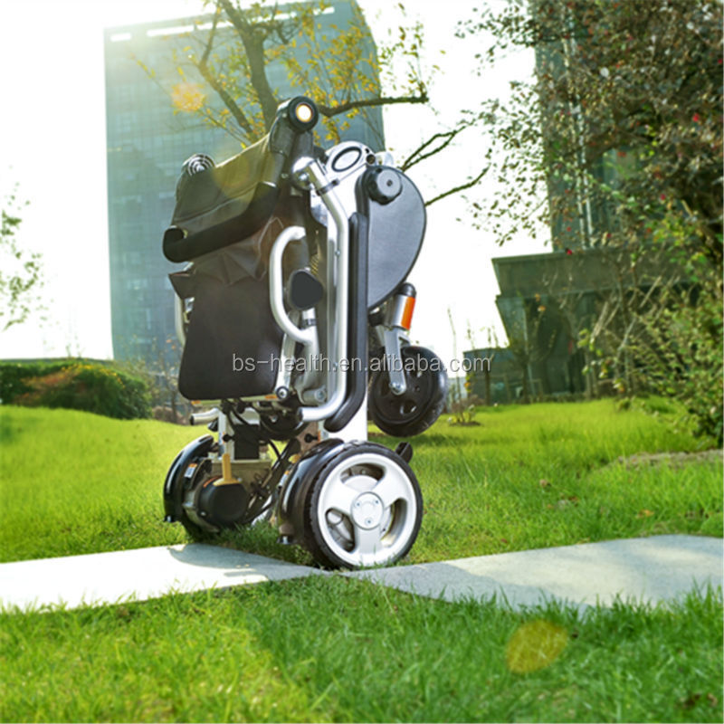Light weight Foldable Power electric motorized Wheelchair for old people