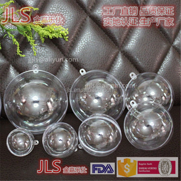 Dia40MM-200MM hollow and clear plastic acrylic sphere box