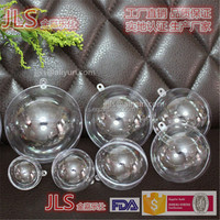 Dia40MM-200MM hollow and clear plastic acrylic sphere