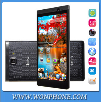Original inew i8000 V5C 5.5 inch MTK6582 quad core 1GB RAM 4GB ROM 8.0MP two camera android 4.2 3G WCDMA smart mobile phone