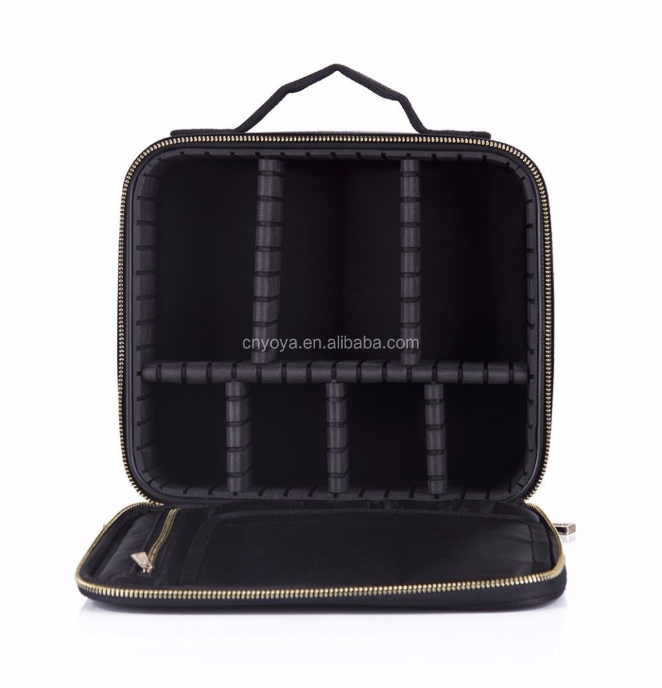 Mini Makeup Train Case with Portable EVA bagCosmetic Bags