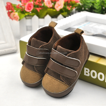 Wholesale suede casual shoes baby 2017 baby prewalker shoes sneakers baby