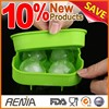 RENJIA ice ball maker 4 ice ball mould diamond ice ball mold
