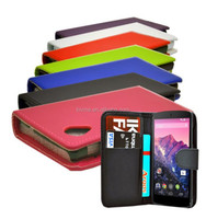 New Leather Wallet Case Cover For LG Google Nexus 5
