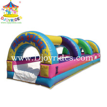 2014 Hot Sales endless fun brand new residential inflatable water slide for children