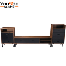 Moroccan <strong>furniture</strong> living room sets tv stand&amp;side cabinet