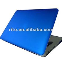 "Blue color Logo See Through Rubberized Matte hard shell case for macbook Pro 15.4"" OEM accepted"