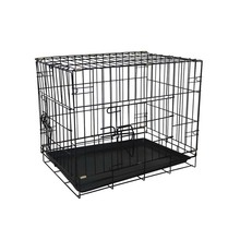 Wholesale metal portable pet supply crate pet cages carriers houses for dog