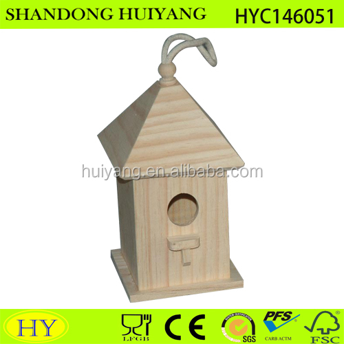 small cheap wood bird house wholesale