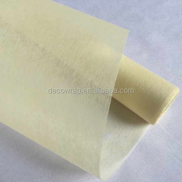 Rolled Non Woven Fabric Flower Wrap