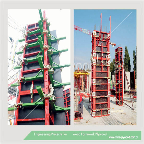 Industry cheap waterproofing marine formwork plywood for concrete formwork
