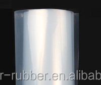 1 mm thick heat resistant cold resistant thin transparent silicone rubber sheeting factory