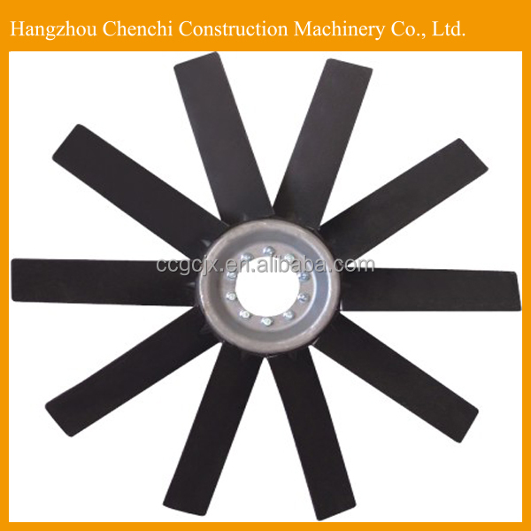 excavator digger engine parts ice water DC cooling fan 3828964