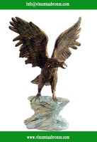 Art Minds bronze flying eagle statue sculptures