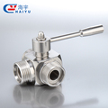 Beverage Brewing Sanitary Stainless Steel Butterfly Valve