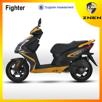 Fighter -znen 2015 new scooter 125cc 150cc gas scooters for adults 49CC cheap gas scooters for sale