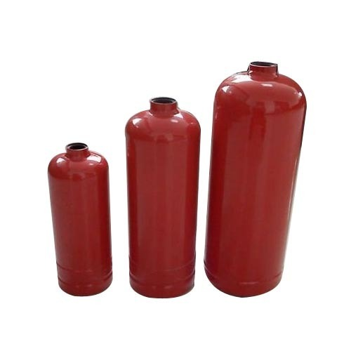 Portable fire extinguisher cylinder for fire rescue system
