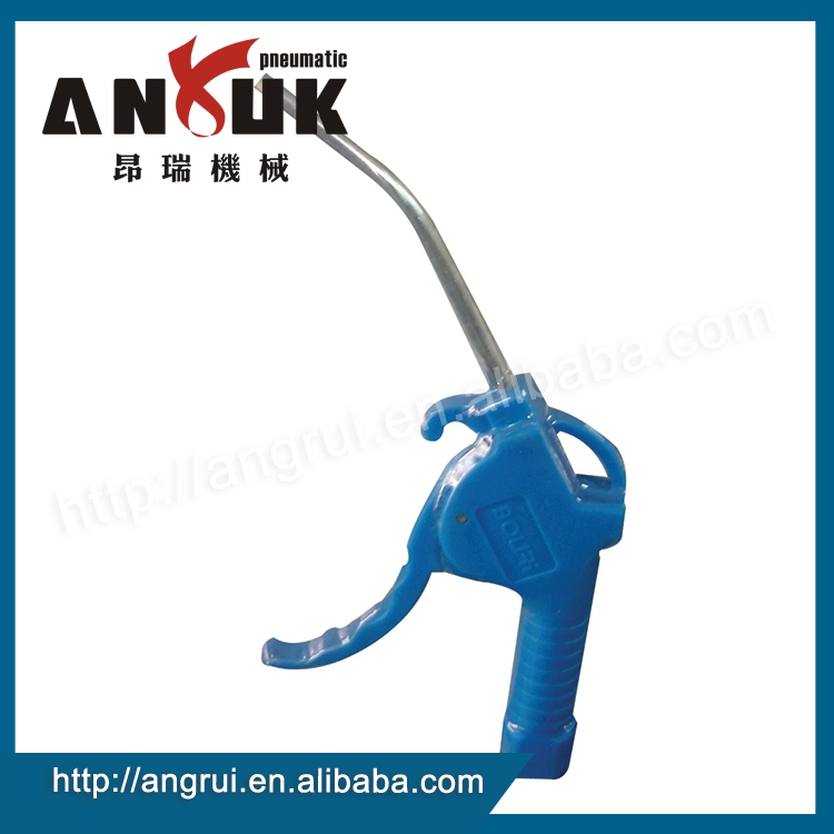 Wholesale manufacturers export blue aluminum alloy plastic air gun