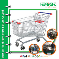commercial service cart shopping mall trolley