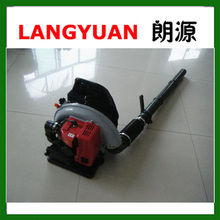 Multifunction backpack gasoline air leaf blower fire extinguisher