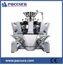 14 heads multi-mouth feeder weigher packaging machine with 2.5L volume hopper
