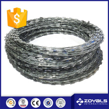 High Security 15m welded razor wire for marine (manufacturer)