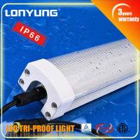 Great technology IP65 1.5m/5ft Tri-proof LED tube Light 20W 30W 40W 50/60w led boat dock lighting