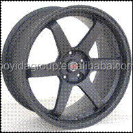 Matt Black Rays Volk Racing TE37 Alloy Wheel Rims