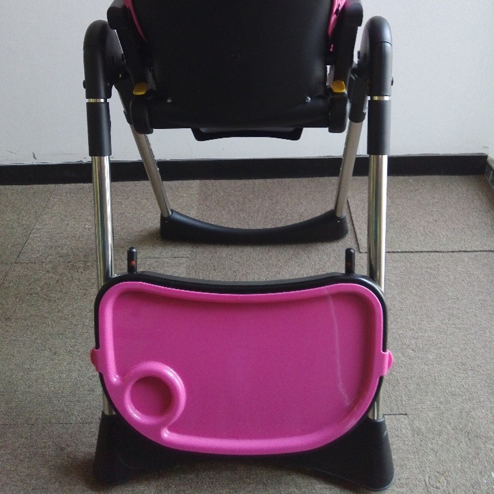 Kids desk baby doll high chair and high back folding chair