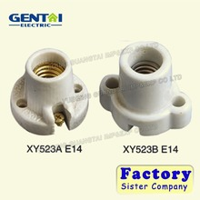 E27 Light Socket ,Bulb holder,porcelain e14 candle lamp holders