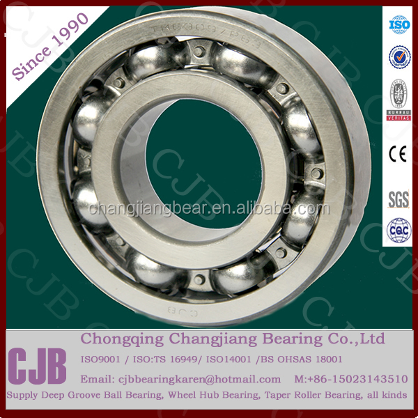 High Speed Low noise 6205-2RS Ball Bearing 25*52*<strong>15</strong> with high limit rotating speed