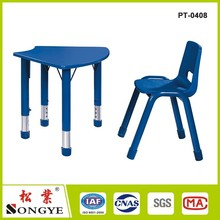 Children Play School Plastic Furniture for Kindergarten furniture plastic chair and table