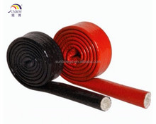 Silicone coated Fiberglas Sleeves pyrojacket fire sleeve
