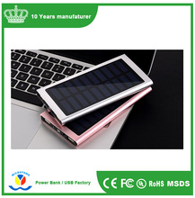 Best For Gift Portable Solar Charger Hot Solar Power Bank 5000mah/ Solar Power Bank