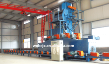 the shot blasting machine used for steel pipe surface descaling has stability performance