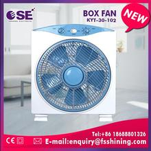 2017 New design silent 12 square box fan with CE