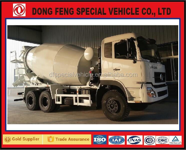 Cement mixer special vehicle dongfeng trucks for sale in china alibaba supplier 6x4 automobile