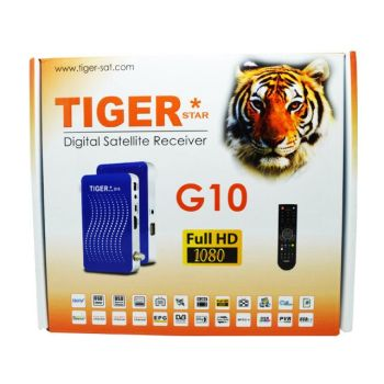 Wholesale Price Tiger G10 Full HD TV DVB-S2 Set Top Box / Mini Digital Satellite Receiver Multi Channels MPEG-4