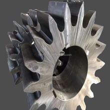 forging toothed gear parts wheel and bevel gear
