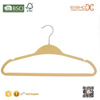 Eisho Special Hook Premium Quality Velvet Clothes Hangers