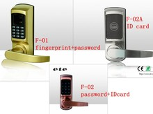 Password + finger print open Style and Finished Surface Finishing stainless steel door locks