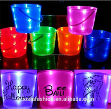 Wholesale Kids Personalized LED Lighted Halloween Bucket