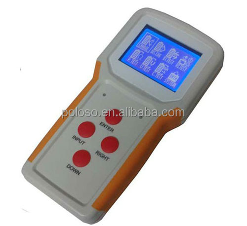 handheld universal battery tester with charge discharge test