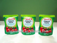 oem brand super sweet cheap tomato paste/sauce/ketchup halal food flavouring manfacturer
