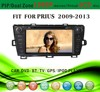 car dvd gps windows ce 6.0 fit for Toyota Prius right hand drive 2009 - 2013 with radio bluetooth gps tv pip dual zone