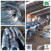 Low price BWG 8#-22# galvanized iron wire,electrical material china manufacture