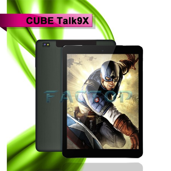 smart phone Android 4.4 2gb ram tanlet cube talk 9x 9.7inch Octa-core mobile phone